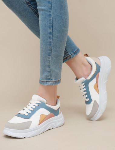 Sneakers à semelles épaisses