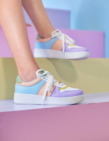 Sneakers multicolores